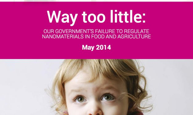 Australian regulators fail to regulate nanomaterials in food and agriculture