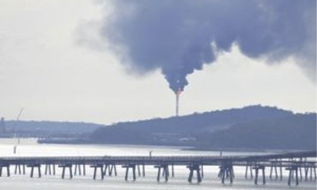 Latest National Pollution Inventory data reveals Curtis Island LNG plant is belching out massive amounts of toxic air pollutants