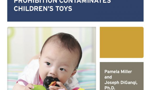 POPs chemicals in recycled plastic contaminating children's toys